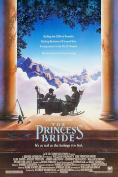 La storia ha inizio nella locandina di The Princess Bride