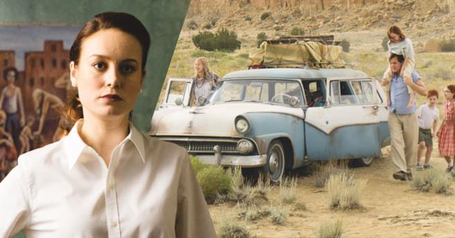 Brie Larson e la sua scapestrata famiglia in The Glass Castle