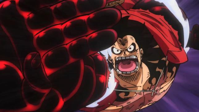 One Piece Rufy Gear 4th
