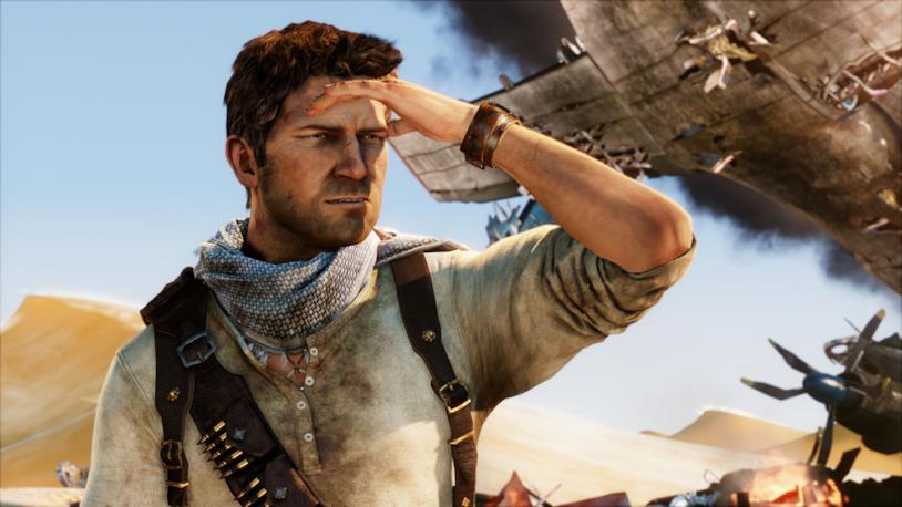 Nathan Drake, l'eroe di Naughty Dog