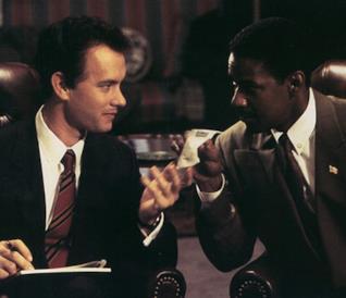 Tom Hanks e Denzel Washington in Philadelphia