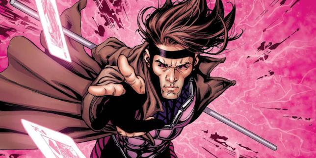 Un primo piano di Gambit nei fumetti