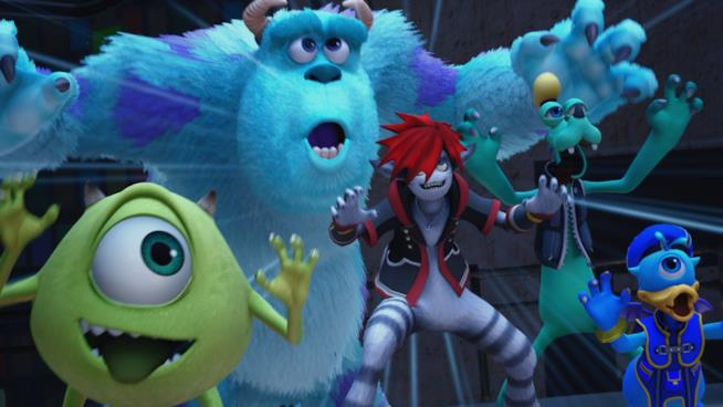 Monsters, Inc. in Kingdom Hearts 3
