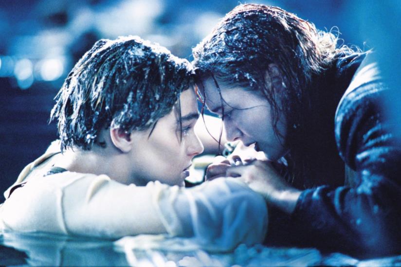 La scena finale di Titanic
