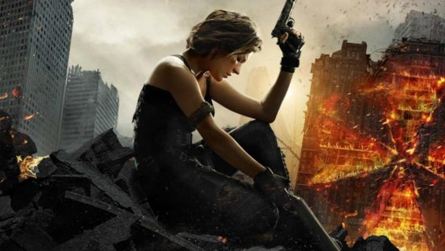 Milla Jovovich nel poster di Resident Evil: The Final Chapter