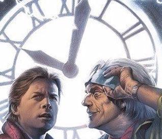 La copertina di Ritorno al Futuro