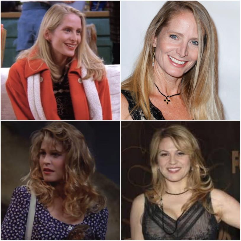Carol Willick in un collage con Jane Sibbett e Anita Barone