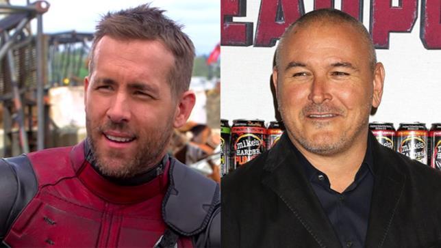 L'attore Ryan Reynolds e il regista Tim Miller