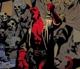Hellboy di Mike Mignola