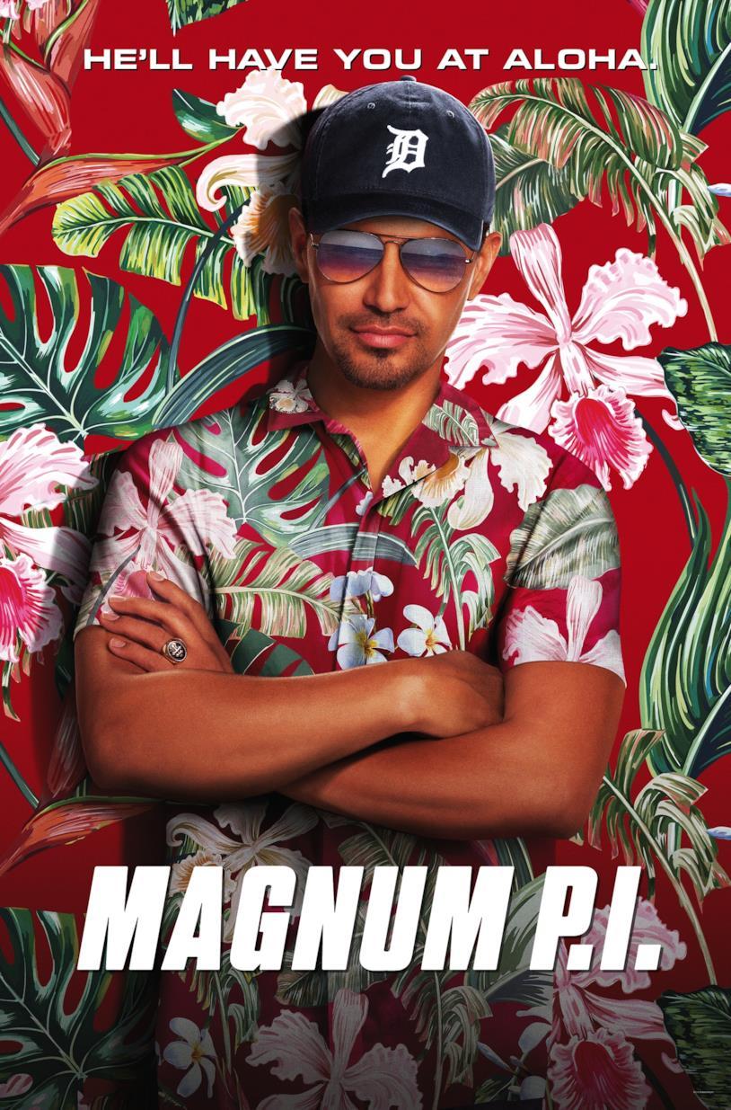 La locandina di Magnum P.I., la nuova serie in arrivo su FOX