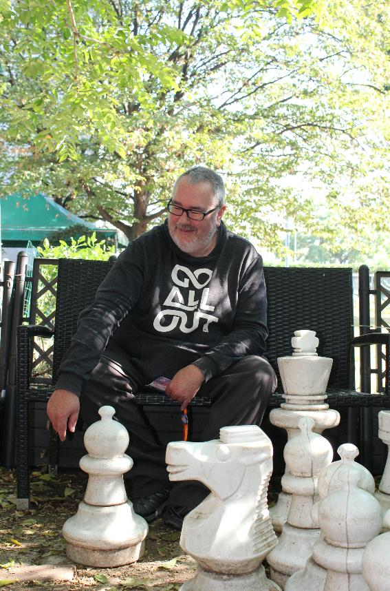 Lo scrittore Ian McDonald