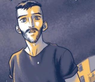 La cover del fumetto di Giulio Macaione