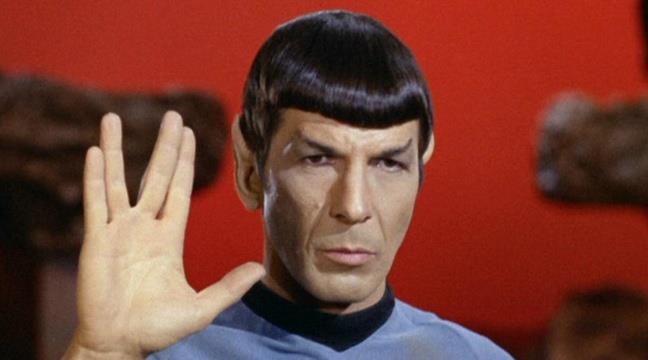 Spock augura lunga vita e prosperità