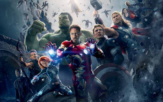 I protagonisti della pellicola Avengers: Age of Ultron