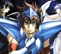 Pegasus Tenma, Ade e Atena in Lost Canvas