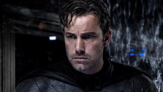 Un primo piano di Ben Affleck nei panni di Bruce Wayne in Batman v Superman: Dawn of Justice