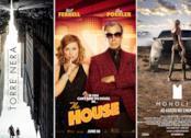 I poster dei film La Torre Nera, Casa Casinò, Monolith