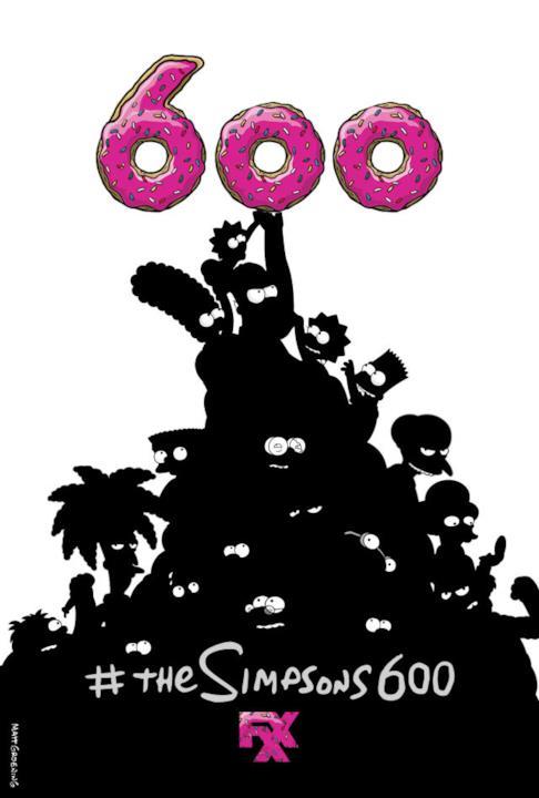 I Simpson hanno omaggiato il film 300 per promuovere la maratona da 600 episodi