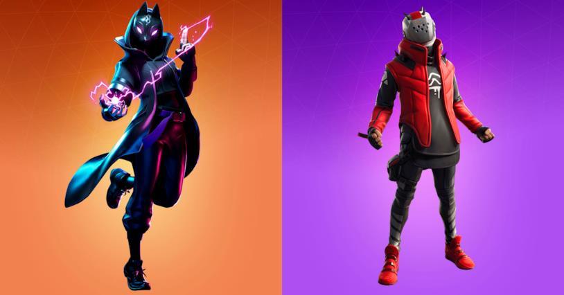 Le skin Catalyst e X-Lord della Stagione X di Fortnite
