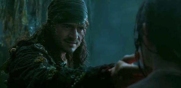Will Turner in primo piano nello spot