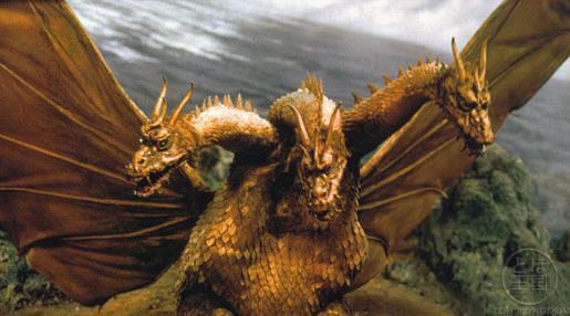 King Ghidorah nel film Godzilla contro King Ghidorah