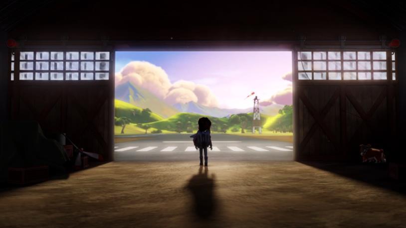 La serie animata The Rocketeer