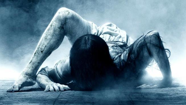 Samara nel poster di Rings
