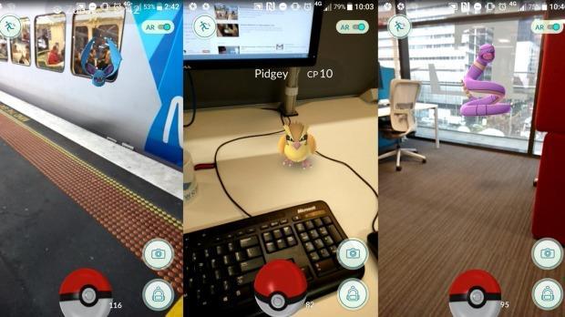 I Pokémon appaiono in metropolitana e in ufficio