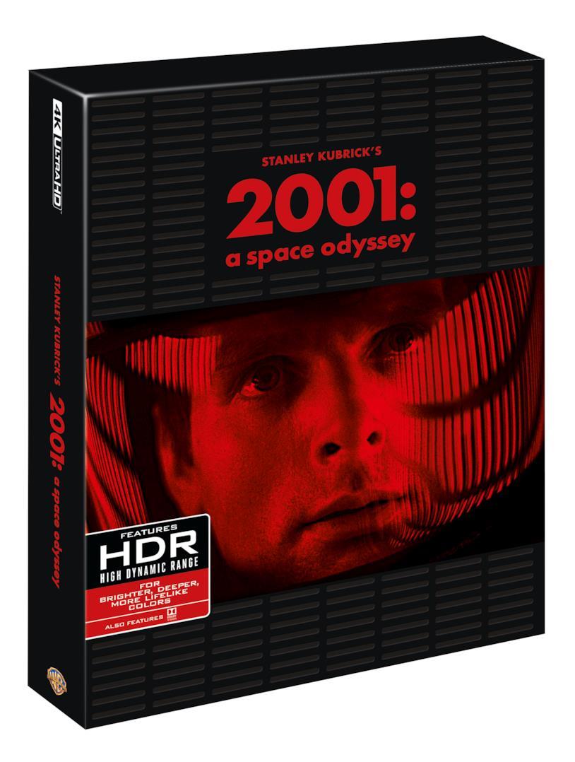 La copervina dell'edizione 4K in Home Video di 2001: Odissea nello Spazio
