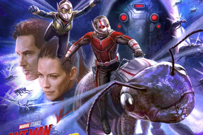 Ant-Man e Wasp in azione in una concept art per il sequel