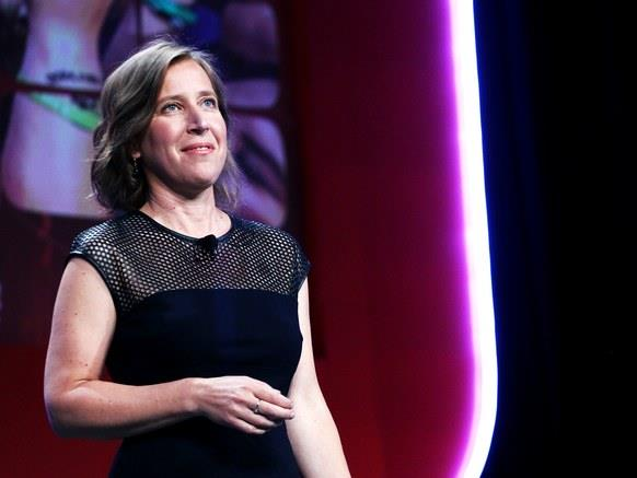 CEO di YouTube Susan Wojcicki
