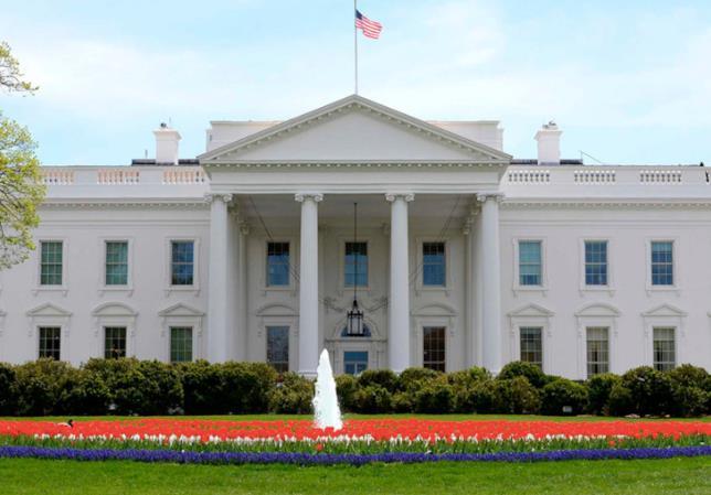 Un'immagine della Casa Bianca