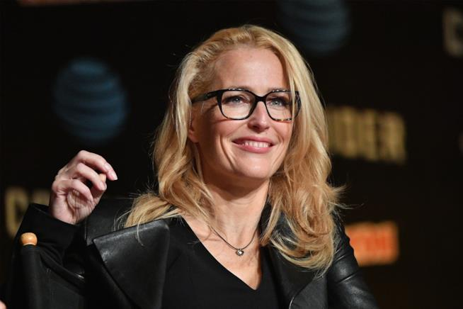 Gillian Anderson al Comic-Con di New York