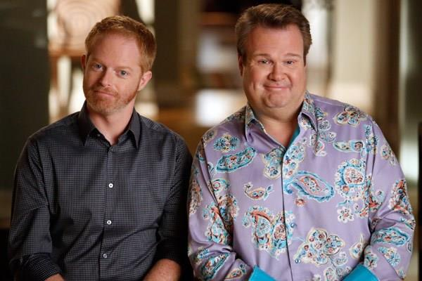 Mitchell e Cameron, genitori arcobaleno della TV