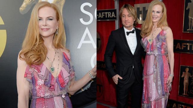 Nicole Kidman ai premi SAG Awards 2016