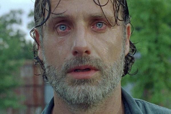 Il pianto di Rick Grimes