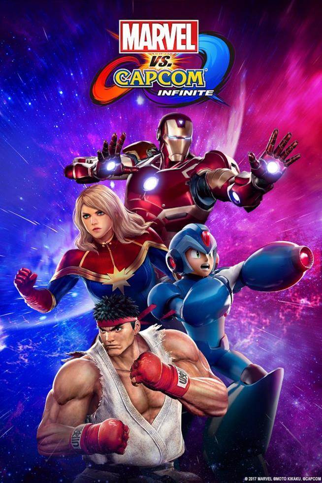 Marvel vs. Capcom Infinite in uscita a settembre
