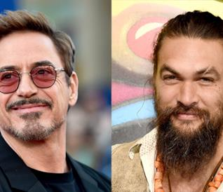 Robert Downey Jr. e Jason Momoa