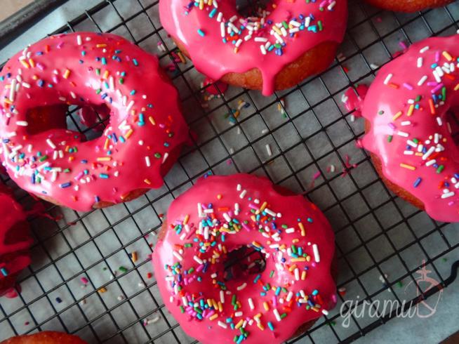 Alcune ciambelle rosa ispirate ai Simpson