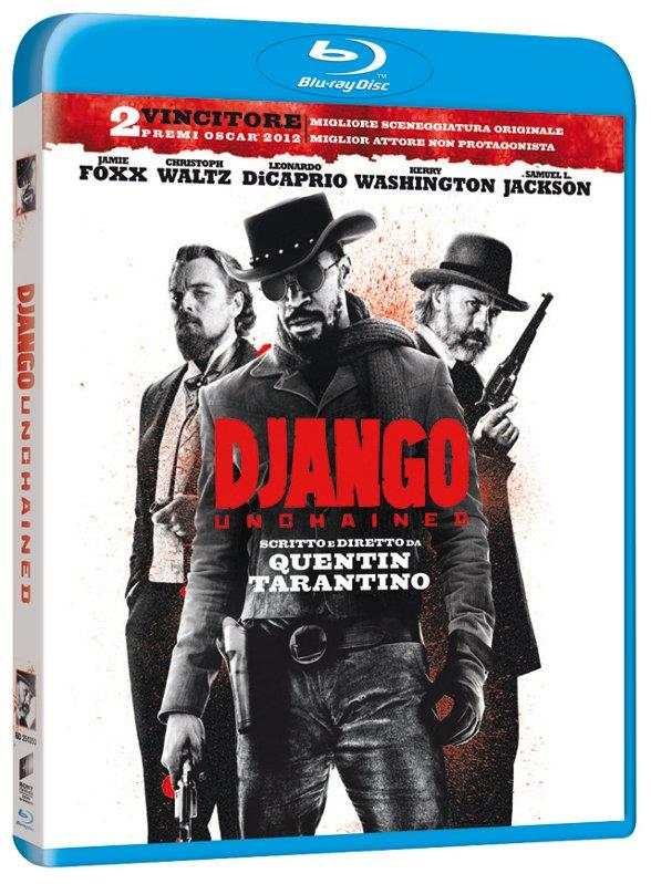 La copertina di Django Unchained