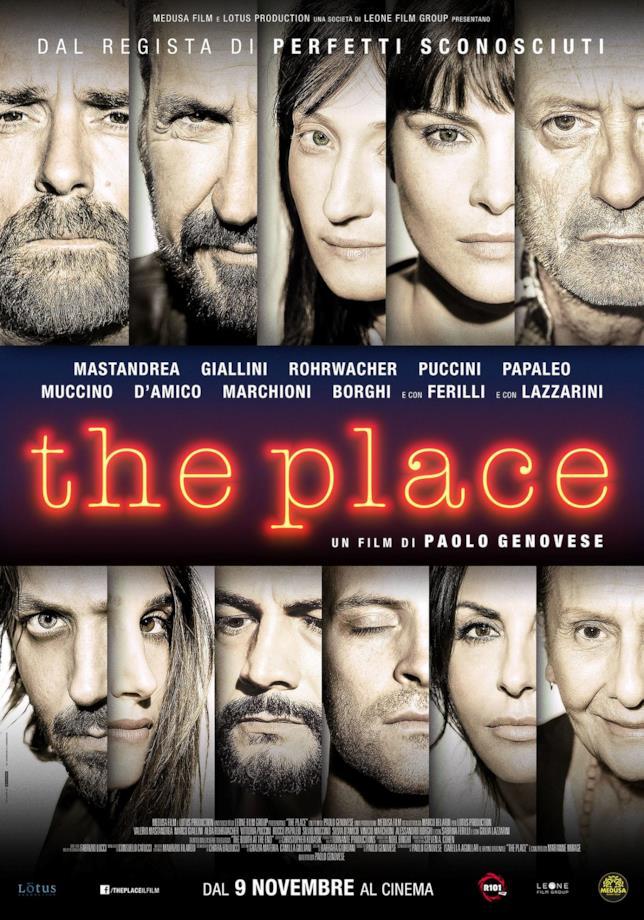 Il poster ufficiale di The Place