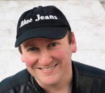 Blue Jeans con il suo romanzo