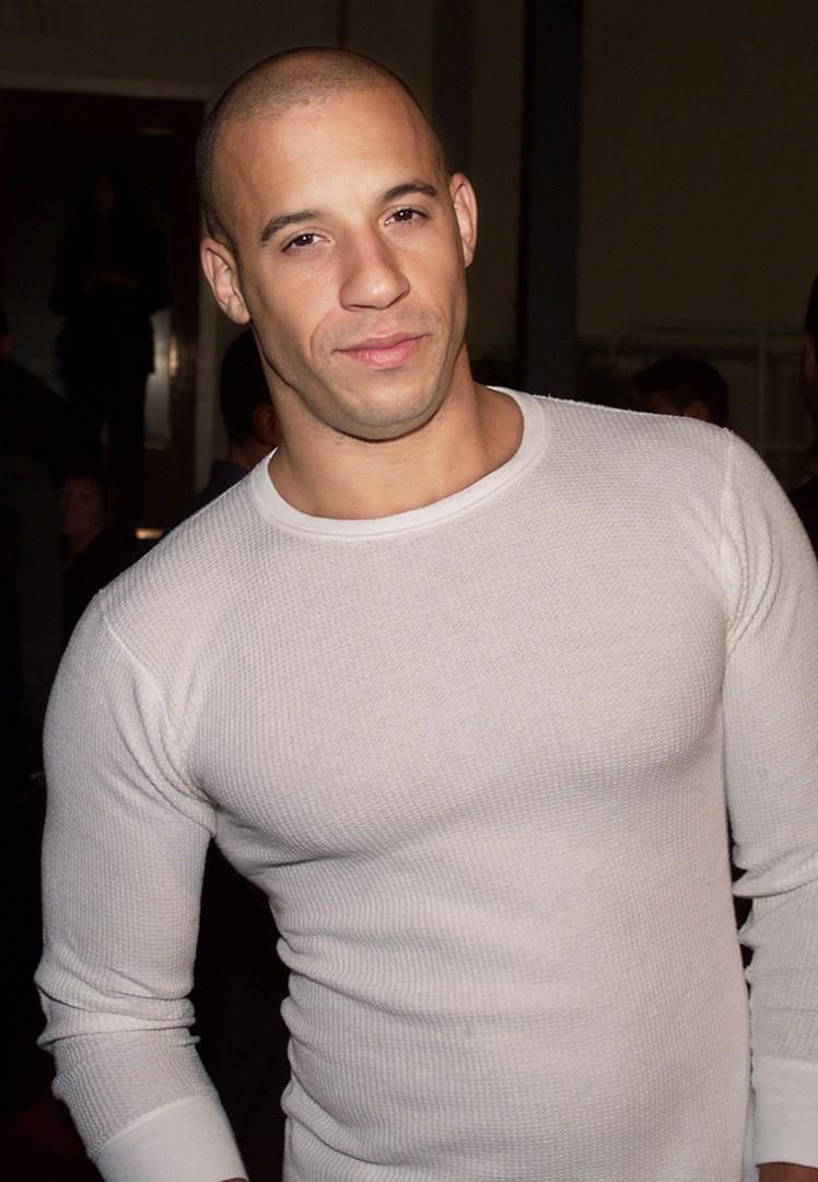 Vin Diesel in primo piano