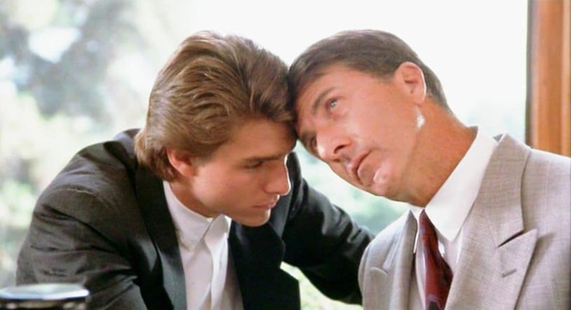 Tom Cruise e Dustin Hoffman