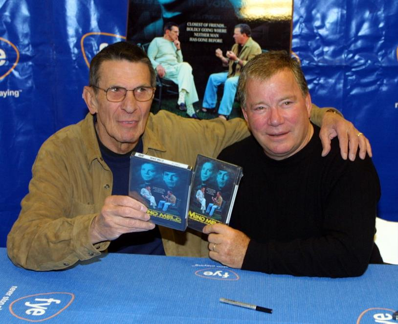 Star Trek, Leonard Nimoy con William Shatner