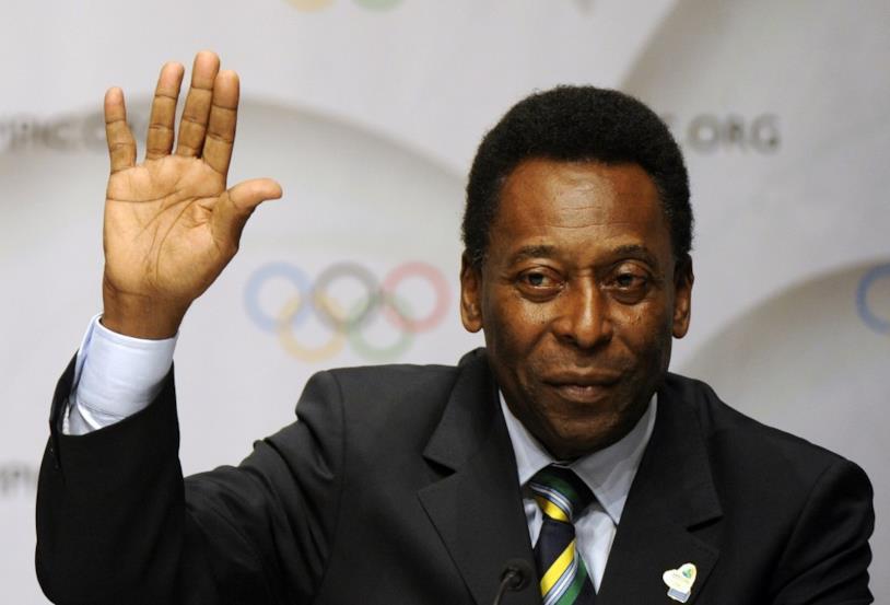 L'ex calciatore brasiliano Pelé