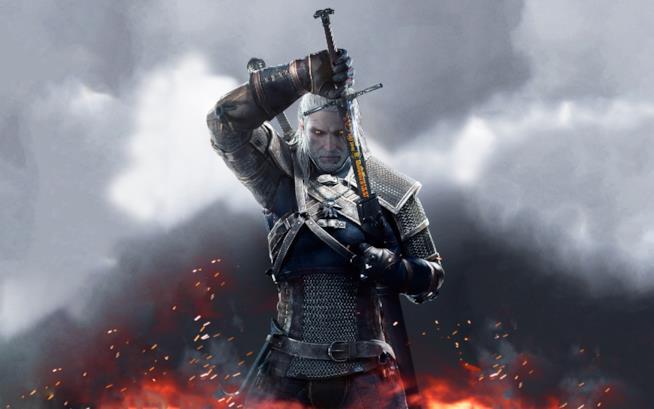 Un'immagine promozionale di The Witcher 3