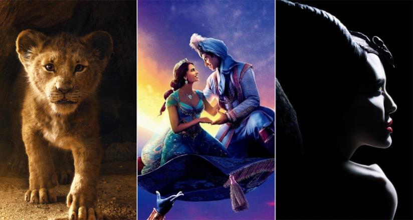 Il Re Leone, Aladdin e Maleficent: particolari dei poster