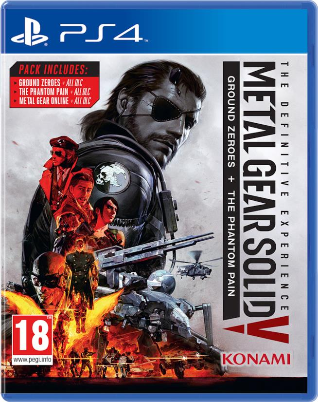 Metal Gear Solid: The Definitive Experience in arrivo a ottobre