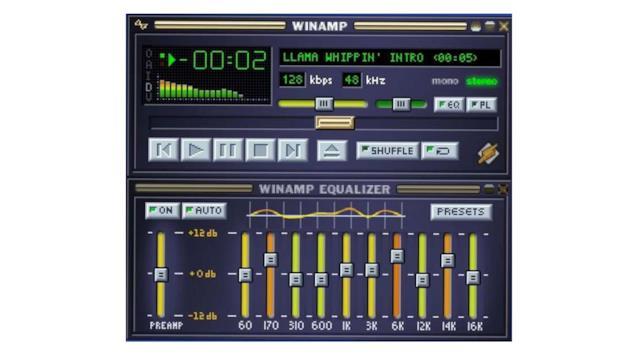 Winamp, storico lettore di file musicali